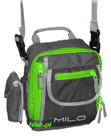 torba na ramię Milo Taro szara/zielona