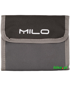 portfel Milo Nexo szary/zielony