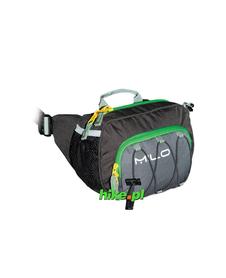 torebka biodrowa Milo Jonnie Walker szara/zielona
