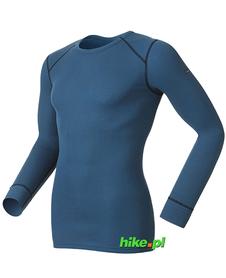 koszulka termoaktywna z długim rękawem Odlo Originals Warm niebieska
