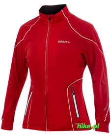 damska kurtka Craft PXC High Function Jacket czerwona