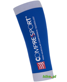 opaski kompresyjne Compressport R2 niebieskie/zielone
