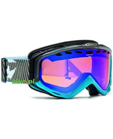gogle narciarskie Alpina Turbo HM niebiesko-szare