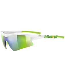 okulary sportowe Uvex Sgl 103 biało-zielone