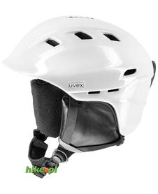 damski kask narciarski Uvex Comanche 2 Pure biały