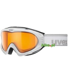 gogle narciarskie Uvex F2 Polavision białe matowe