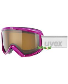 gogle narciarskie Uvex Fire Polavision blackberry