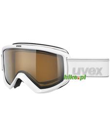 gogle narciarskie Uvex Fire Polavision białe