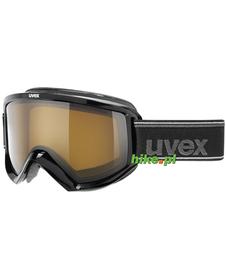 gogle narciarskie Uvex Fire Polavision czarne