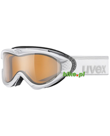 gogle narciarskie Uvex Onyx Polavision białe matowe