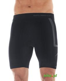męskie spodenki Brubeck Fitness czarne