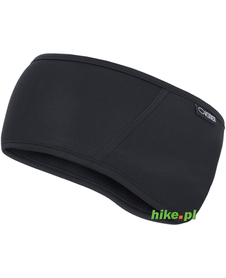 opaska z membraną z przodu gWinner Headband Serie A THERMOline czarna