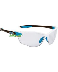 okulary sportowe Alpina Twist Four VL+ white-cyan-anthracite