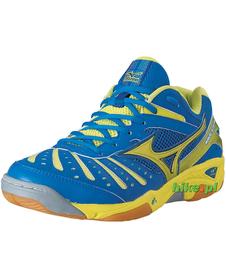 buty Mizuno Wave Steam 2 niebiesko-żółte