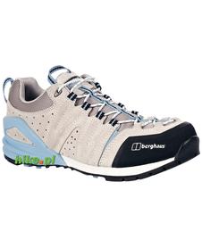 damskie buty podejściowe Berghaus Cuerra Cuesta beżowo-błękitne