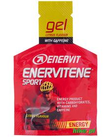 żel energetyczny Enervit Enervitene BCAA 25ml cytrusowy z kofeiną