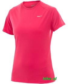 damska koszulka Craft Active Run Tee różowa