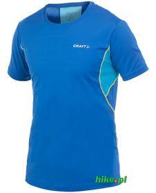 męska koszulka Craft Cool Tee with Mesh niebieska