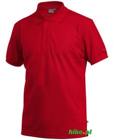 męska koszulka polo Craft Pique czerwona