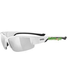 okulary sportowe Uvex Sportstyle 215 biało-czarne
