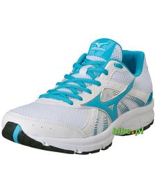 damskie buty Mizuno Crusader 8 biało-błękitne
