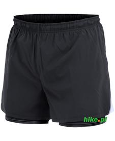 męskie szorty do biegania 2w1 Craft Run Fast Shorts czarne