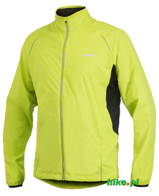 męska kurtka do biegania Craft Active Run Jacket żółta rozm. XL