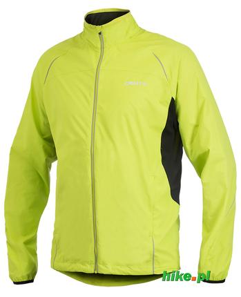 męska kurtka do biegania Craft Active Run Jacket żółta rozm. XL