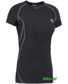 damska koszulka Ternua Gaube czarna