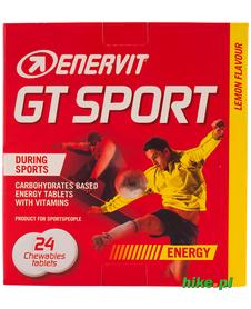 tabletki energetyczne Enervit GT Sport 4x4g cytrynowe