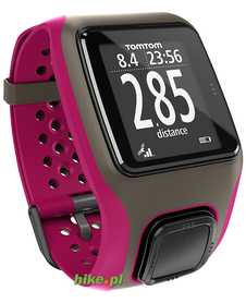 zegarek biegowy TomTom Multi-Sport GPS ciemno-różowy