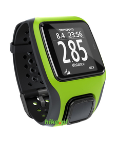 zegarek biegowy TomTom Multi-Sport GPS zielony