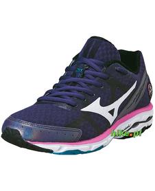 damskie buty do biegania Mizuno Wave Rider 17 ciemnofioletowe