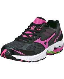 damskie buty do biegania Mizuno Wave Legend 2 czarno-różowe