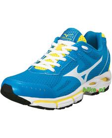 damskie buty do biegania Mizuno Wave Resolute 2 niebieskie