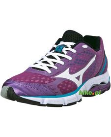 damskie buty do biegania Mizuno Wave Connect fioletowe