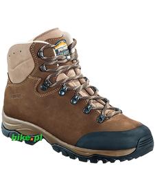 męskie buty trekkingowe Meindl Jersey Pro ciemnobrązowe
