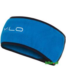 zimowa opaska Milo Headband niebiesko-szara