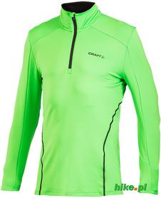 męska bluza do biegania Craft Lightweight Stretch Pullover zielona