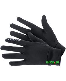 zimowe rękawiczki do biegania Craft Thermal Glove czarne