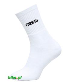 skarpety bawełniane Nessi 1F białe