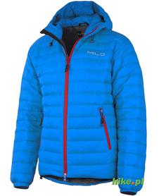 męska kurtka zimowa Milo Manali niebieska