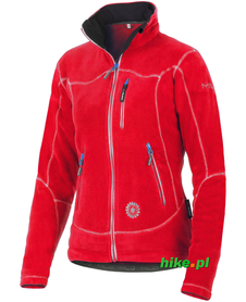 damska kurtka polarowa Milo Tocay Lady czerwona