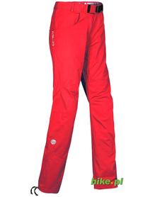 damskie spodnie trekkingowe Milo Epso Lady czerwone