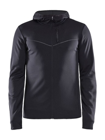 męska bluza z kapturem Craft Eaze Sweat Hood Jacket czarna