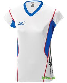 damska koszulka Mizuno Premium Cap Sleeve biała