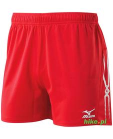 męskie szorty Mizuno Premium Shorts czerwone