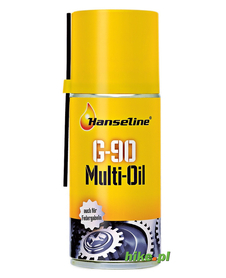 smar do łańcucha w aerozolu Hanseline Chain Lube Spray 150 ml