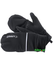 rękawiczki hybrydowe 2w1 Craft Hybrid Weather Glove czarne