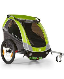 rowerowa przyczepka dla dziecka Burley D'Lite zielona